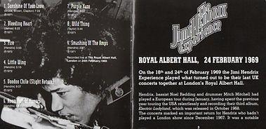 jimi hendrix collector / live at the royal albert hall