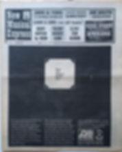 jimi hendrix newspaper 1969 /new musical express april 12 1969