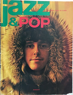 jimi hendrix magazine 1968/ jazz & pop december 1968