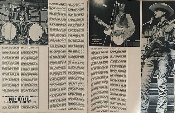jimi hendrix magazines 1970 / mundo joven june 27,1970