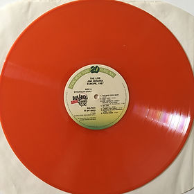 jimi hendrix collector vinyls lp/live in europe 1967 side/a