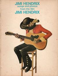 jimi hendrix memorabilia 1973 / songbook sound track recording from the film