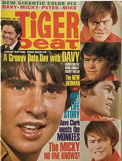 jimi hendrix collector magazines/tiger beat september 1967 monterey pop festival jimi hendrix experience