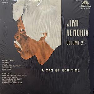 jimi hendrix vinyls bootlegs 1970 /jimi hendrix volume 2°