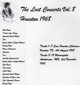 jimi hendrix bootleg cd/the lost concerts vol8