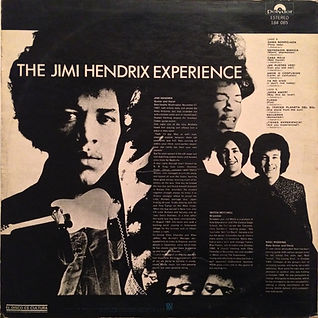 jimi hendrix/rotily/vinyls lp collector/are you experienced mexico 1970