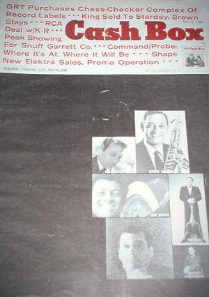 jimi hendrix magazine 1968/cash box november 2, 1968