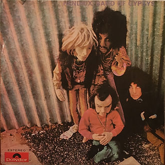 jimi hendrix rotily vinyls collector/band of gypsys  brazil 1970