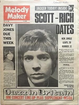 jimi hendrix newspaper/melody maker may 18 1968