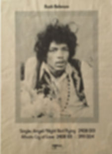 jimi hendrix vinyls singles/angel night bird flying england 1971