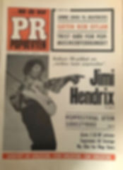 jimi hendrix newspapers 1968/pr poprevyen january 31, 1968