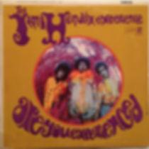 jimi hendrix collector vinyls lp / are you experienced mono canada 1967