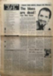 jimi hendrix newspapr 1968/top pops r&b top 20