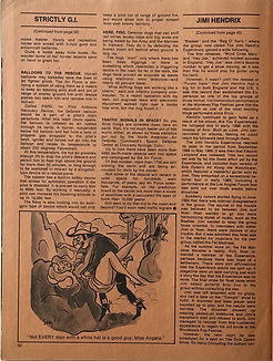jimi hendrix magazines 1970 / sir !  / march  1970