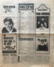 jim hendrix newspaper/new musical express 29/6/1968 top 15 lps smash hits N°6