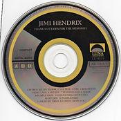 jimi hendrix bootlegs cd/thank's ottawa for the memories
