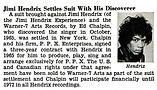 jimi hendrix magazines 1968/ jet :  august 22,1968