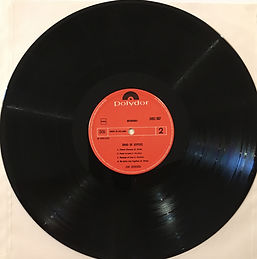 jimi hendrix vinyls collector/band of gypsys 1978