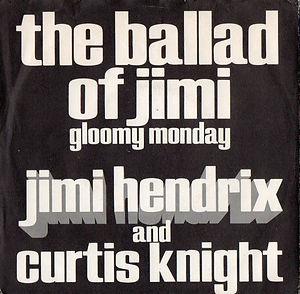 jimi hendrix vinyls singles/the ballad of jimi/gloomy monday germany decca