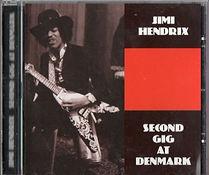 jimi hendrix cd bootlegs/segond gig at denmark