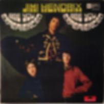 jimi hendrix rotily vinyls lp/are you experienced 1967 yugoslavia