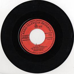 jimi hendrix collector singles reissue/hey joe/radio televizija beograd 1975