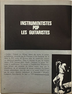 jimi hendri magazine rock & folk april 1969 france