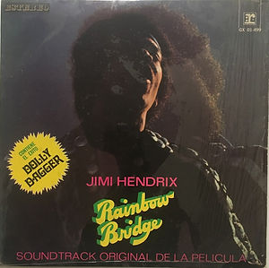 mexico rainbow bridge/jimi hendrix album vinyls 1972