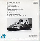 jimi hendrix bootlegs cd collector/canadian club