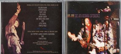 jimi hendrix collector cd bootlegs/live 1968 paris + ottawa