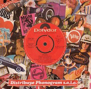 jimi hendrix vinyl single/angel chile 1971