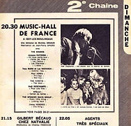 music hall de france/jimi hendrix exprience (broadcast)13/8/1967