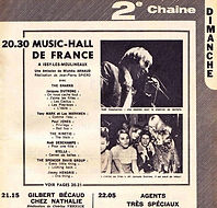 music hall de france/jimi hendrix exprience (broadcast)13/8/1967