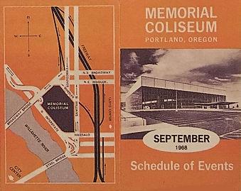 program memorial coliseum portland jimi hendrix