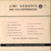 jimi hendrix rotily collector vinyls lp /are you experienced yugoslavia 1967