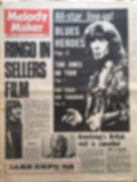 jimi hendrix newspaper 1968/melody maker  october 19 1968
