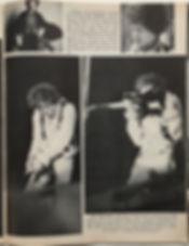 jimi hendrix newspaper 1968/pop rock music december 1968