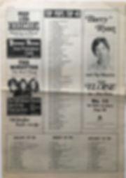jimi hendrix newspaper/top pops top 40/top pops november 9 1968