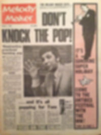 jimi hendrix newspaper/melody maker  7/1/67