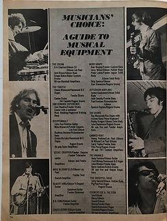 jimi hendrix magazine 1968/hitparader yearbook 1968