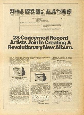 jimi hendrix newspaper 1969/new arbor argus other half july 1969