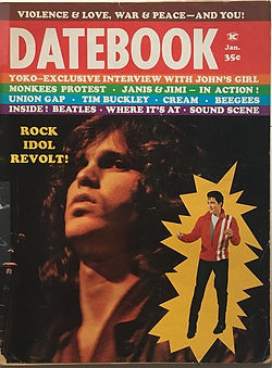 datebook january 1969/magazine jimi hendrix