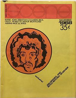jimi hendrix magazine 1968/scene new england november 1968