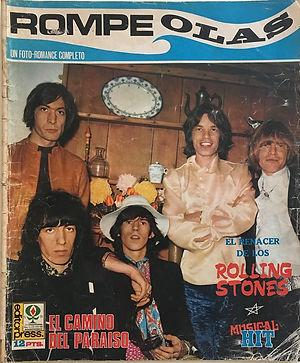 jimi hendrix magazines 1968/rompe olas august 1968 / spanish
