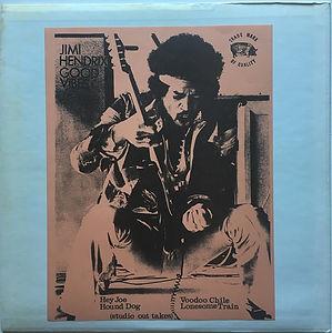 jimi hendrix bootleg vinyl album/jimi hendrix good vibes/ trade mark of quality