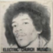 jimi hendrix bootleg vinyl lp album/electric church music