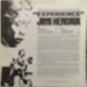 jimi hendrix album vinyls/experience 1971 australia