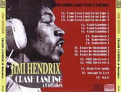 jimi hendrix bootlegs cds /crash landing & outtakes