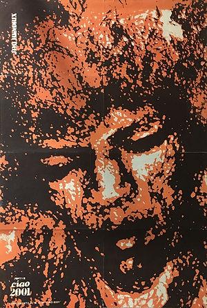 jimi hendrix poster / ciao 2001 italy
