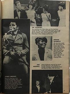 jimi hendrix magazines 1969/teen stars yearbook 1969:black is beautiful